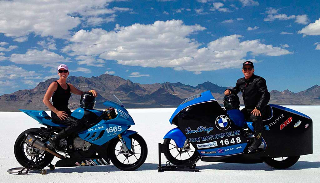 San Diego BMW's S1000RR Does 224 MPH at Bonneville ...