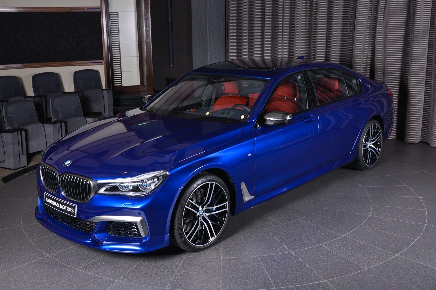 San Marino Blue BMW M760Li Looks Like a Performance Flagship - autoevolution