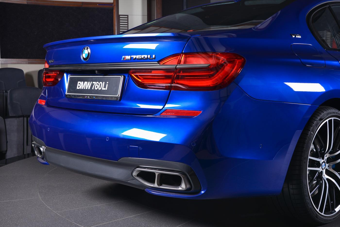 San Marino Blue BMW MLi Looks Like A Performance Flagship - Blue bmw