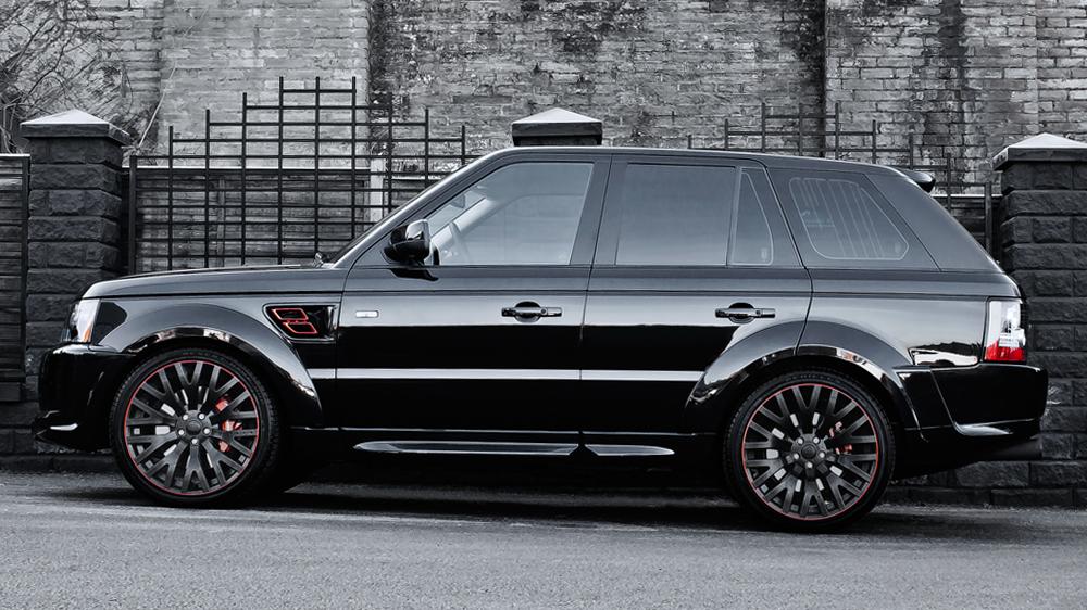santorini black rs600 kahn cosworth range rover sport autoevolution. Black Bedroom Furniture Sets. Home Design Ideas