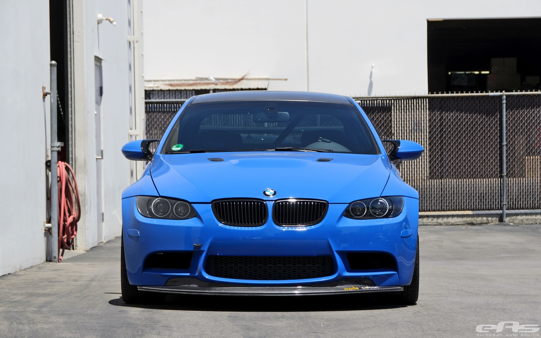 Santorini Blue Bmw E M Gets Serious At Eas Photo Gallery on Bmw 1 Series