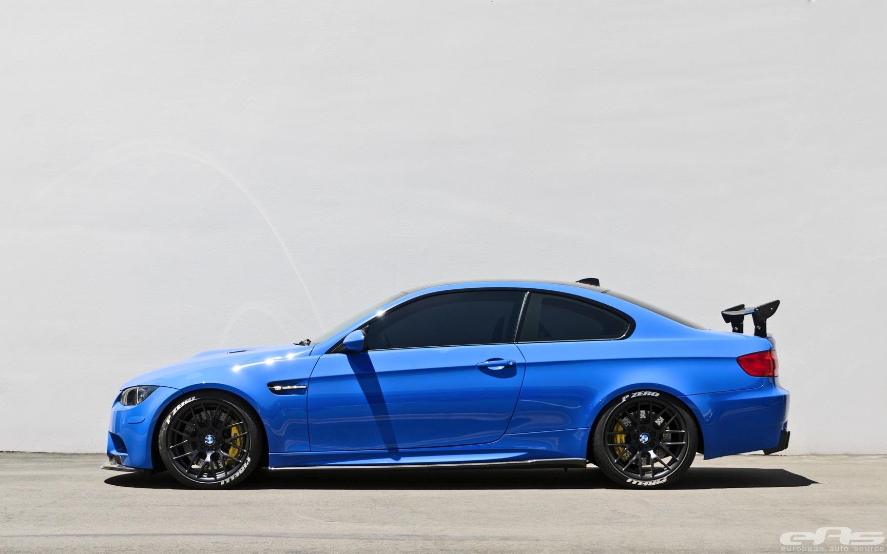 Santorini Blue Bmw E92 M3 Gets Serious At Eas Autoevolution