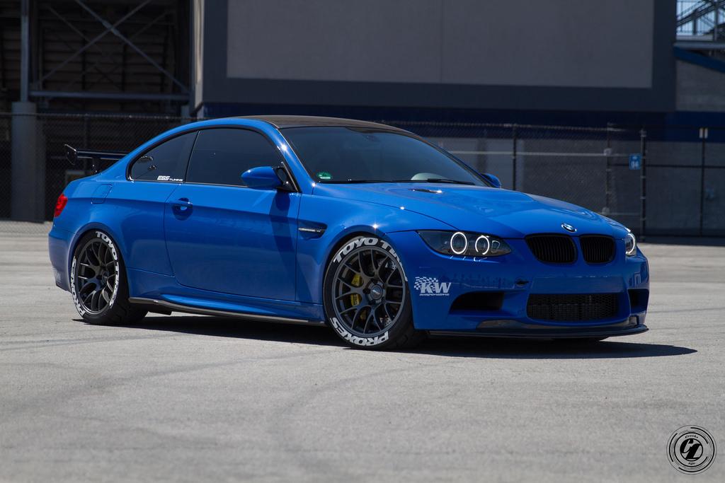 Toyota Tire Sale >> Santorini Blue BMW E92 M3 Is Here to Take You Down - autoevolution
