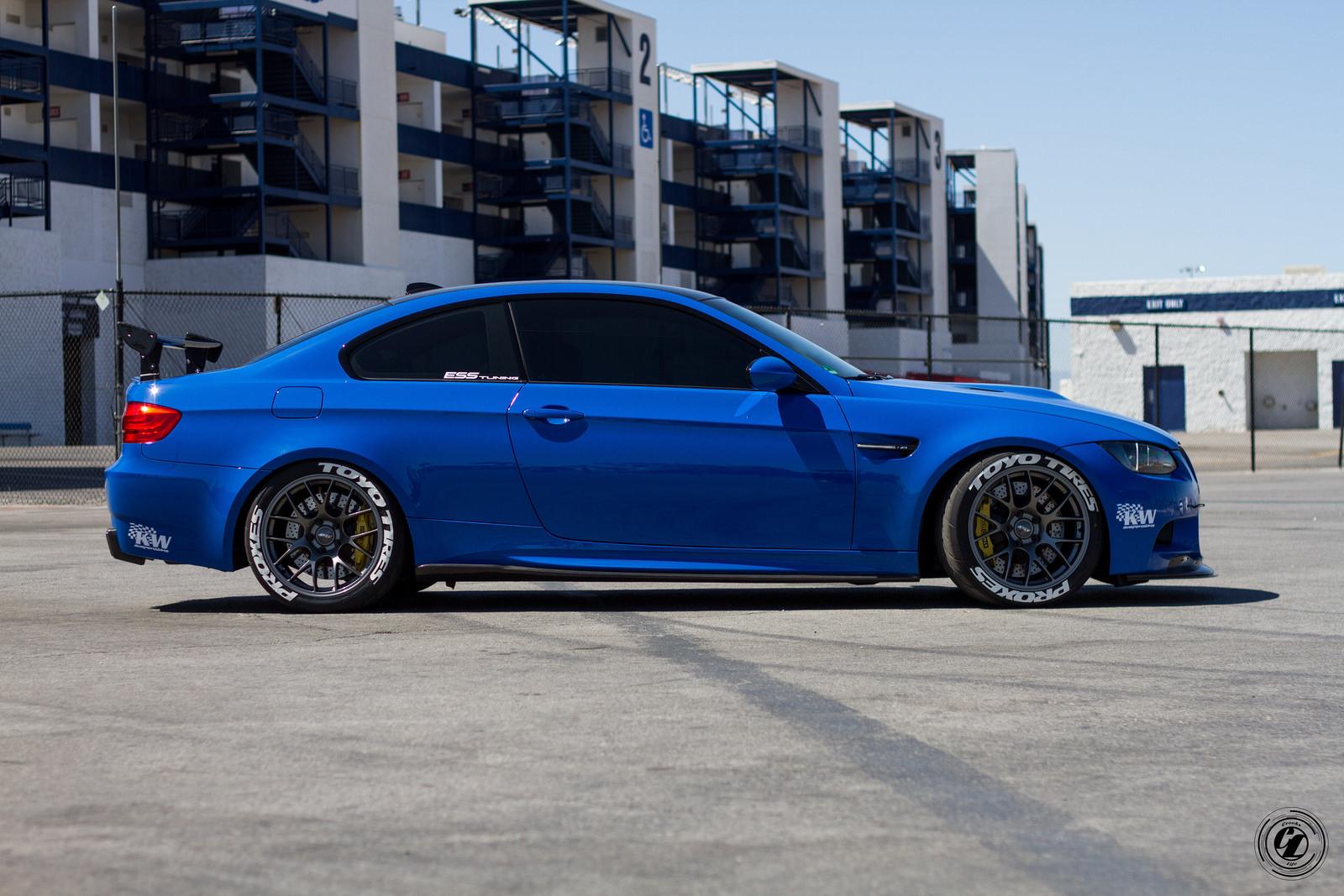 Santorini Blue BMW E92 M3 Is Here to Take You Down - autoevolution