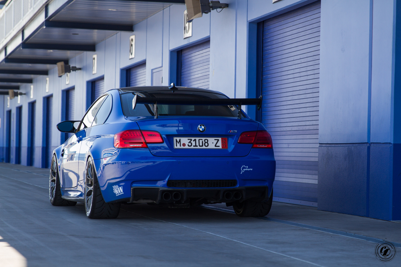 Santorini Blue Bmw E M Is Here To Take You Down Photo Gallery