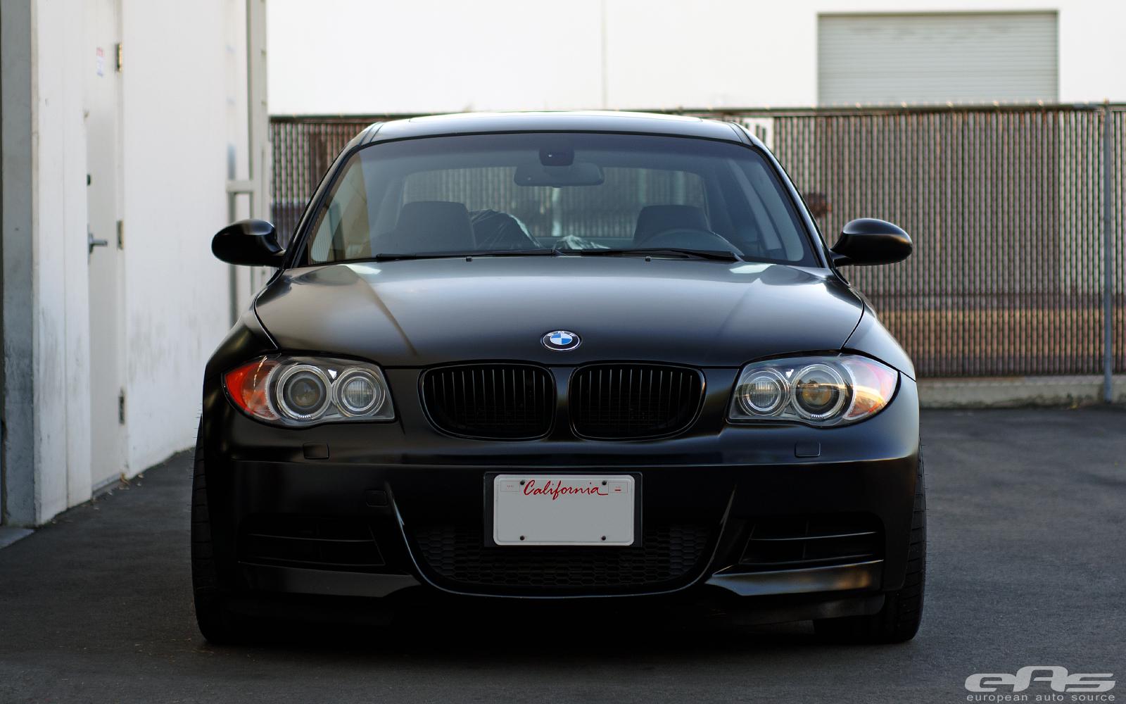 Satin Black Bmw E82 135i Actually Looks Good Autoevolution