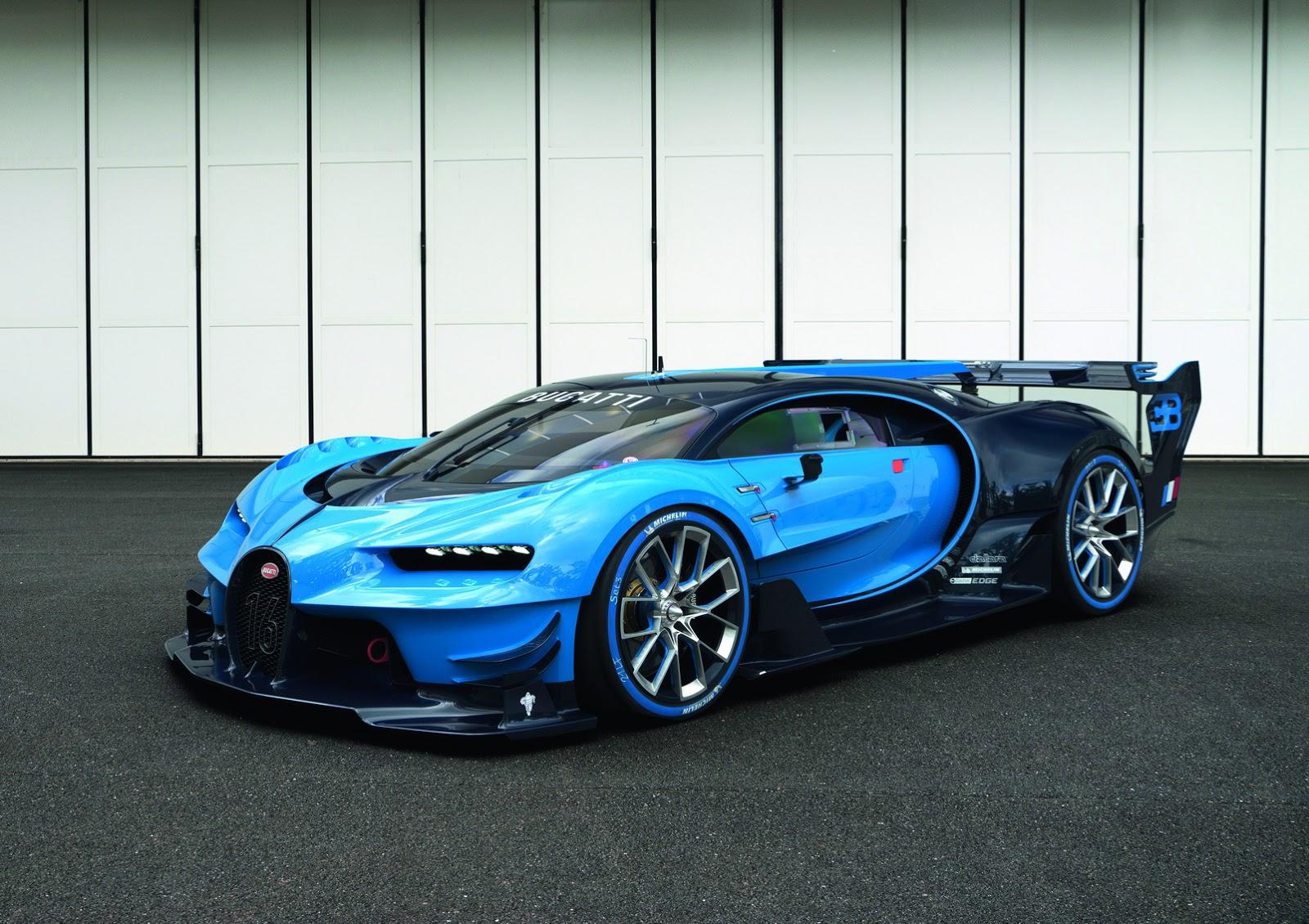 ... Bugatti Vision Gran Turismo ...