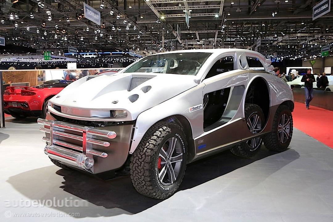 """Sbarro 4x4+2 Concept Puts the """"WTF"""" in """"WTF?"""" in Geneva ..."""