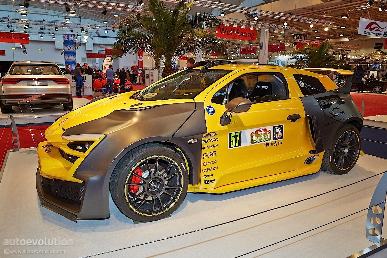 Sbarro espera ibride sparta hybrid rallye auto is better than pizza live photos autoevolution