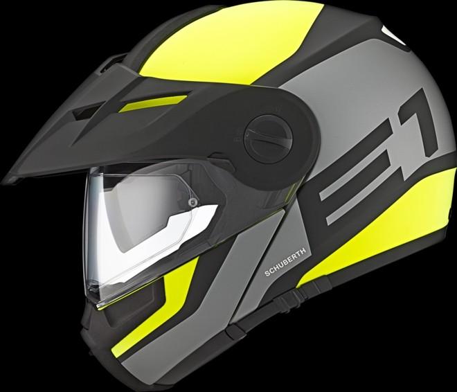 Schuberth E1 Adventure Helmet Has Arrived