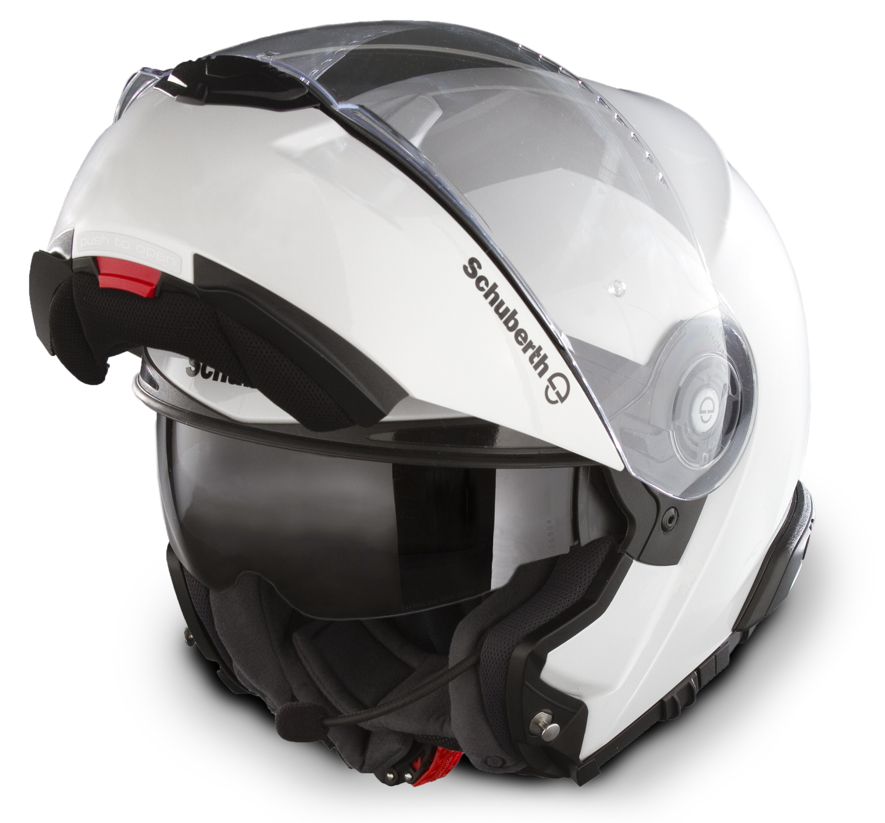 schuberth reveals bmw k1600gtl exclusive matched mineral white c3 pro helmets autoevolution. Black Bedroom Furniture Sets. Home Design Ideas