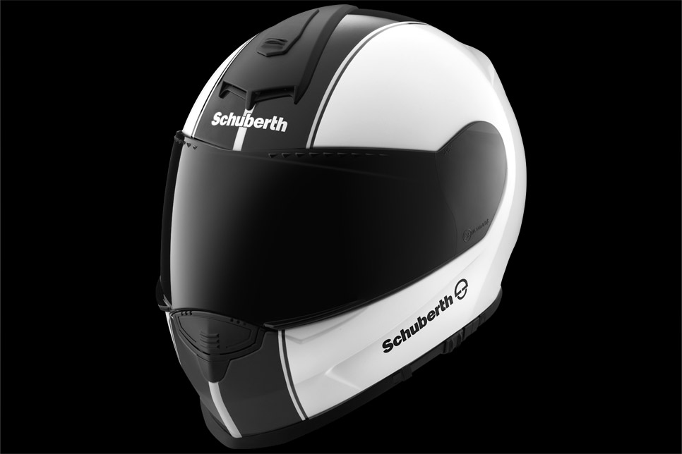 schuberth shows the srcs wireless system for the s2 helmet. Black Bedroom Furniture Sets. Home Design Ideas