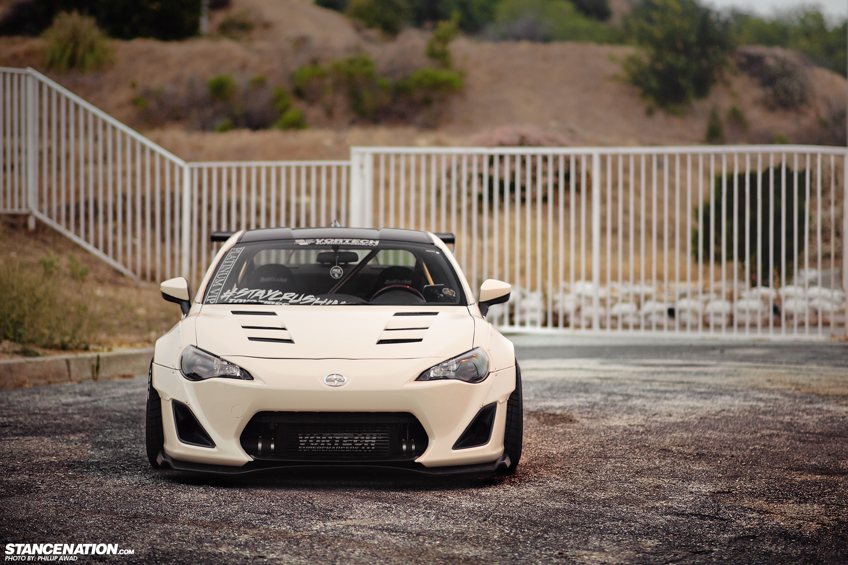 Scion Fr S Turns Into Frosty Rocket Bunny Autoevolution