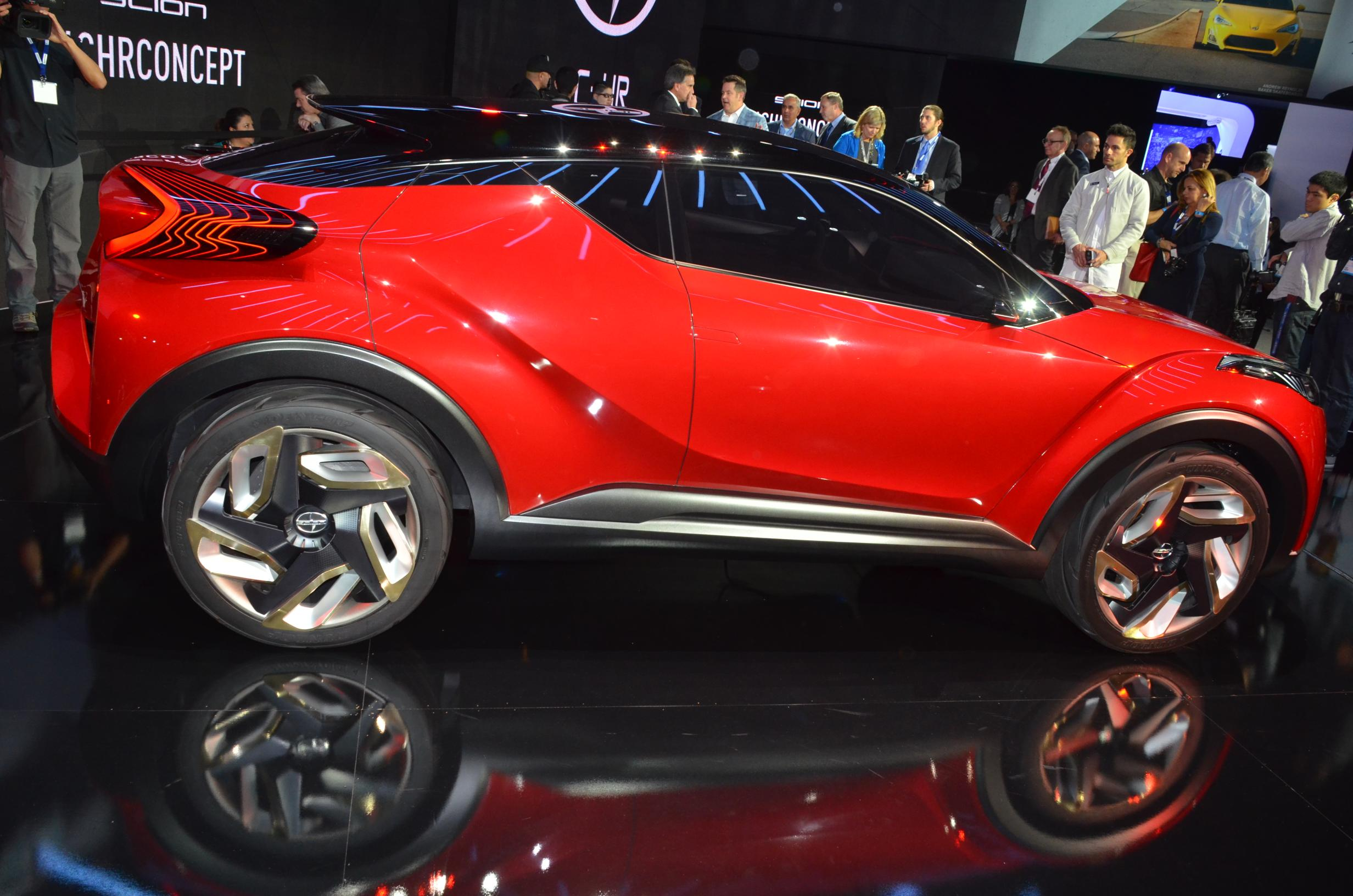 Scion Previews Crossover with the C-HR Concept That Could ...