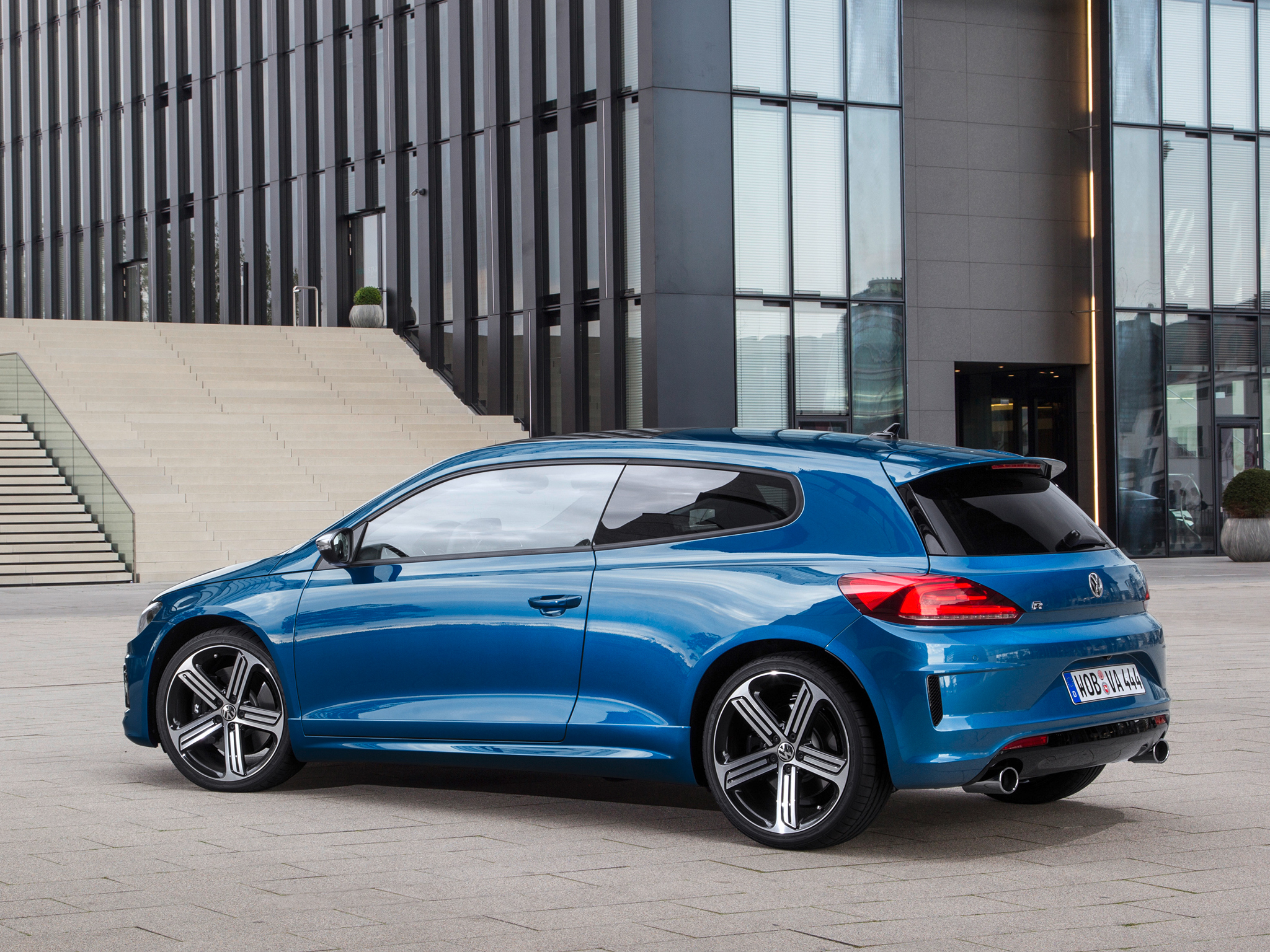 volkswagen scirocco r facelift 280 hp and 0 to 100 kmh