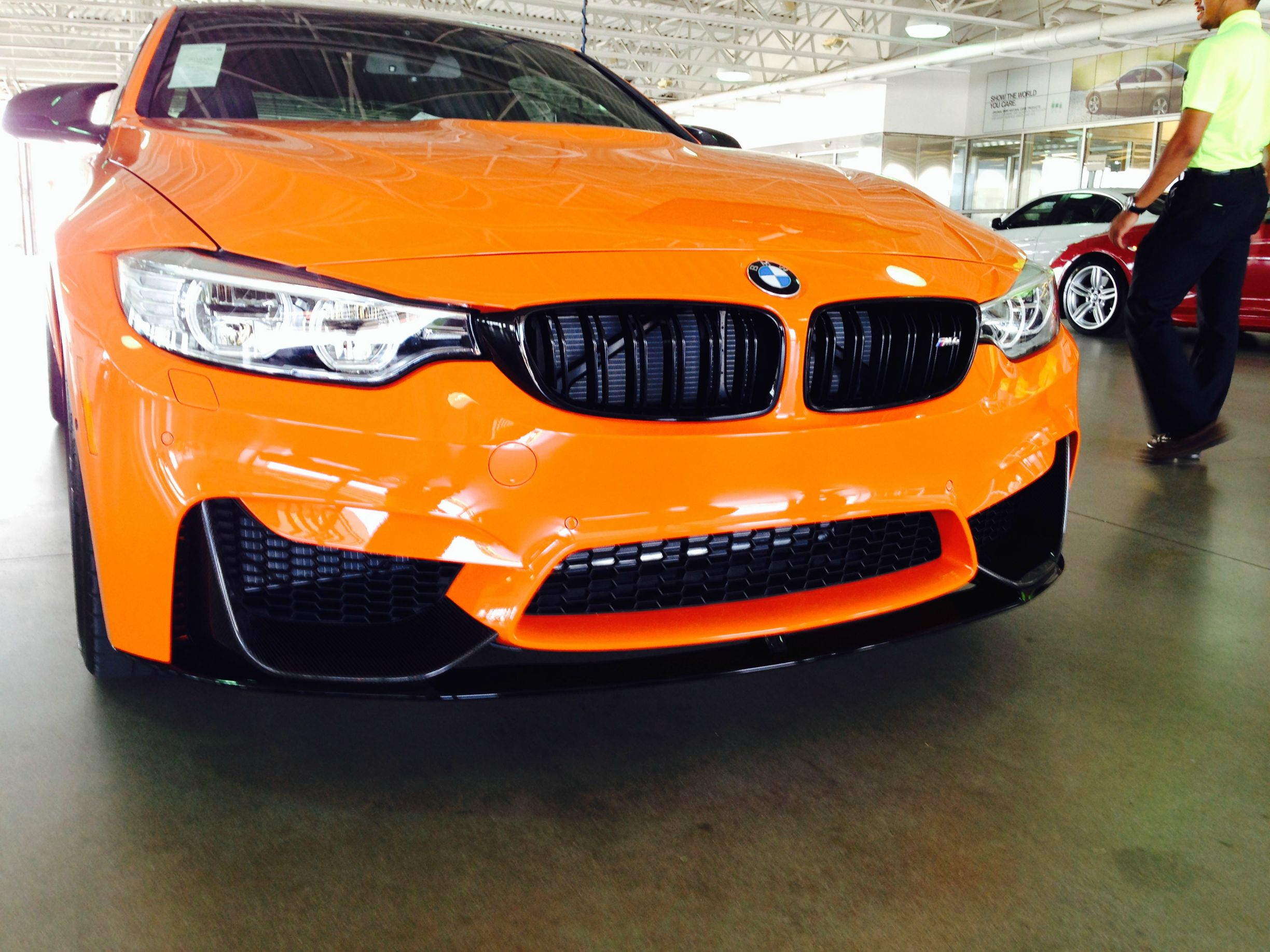 Scoop BMW M4 Limerock Special Edition Spotted