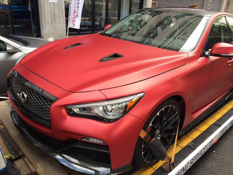 How Much Is A Matte Red Paint Job