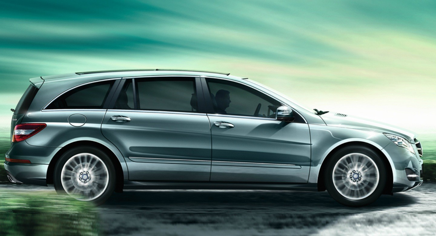 Scoop mercedes r class offered in china with new twin for Mercedes benz r class 2016