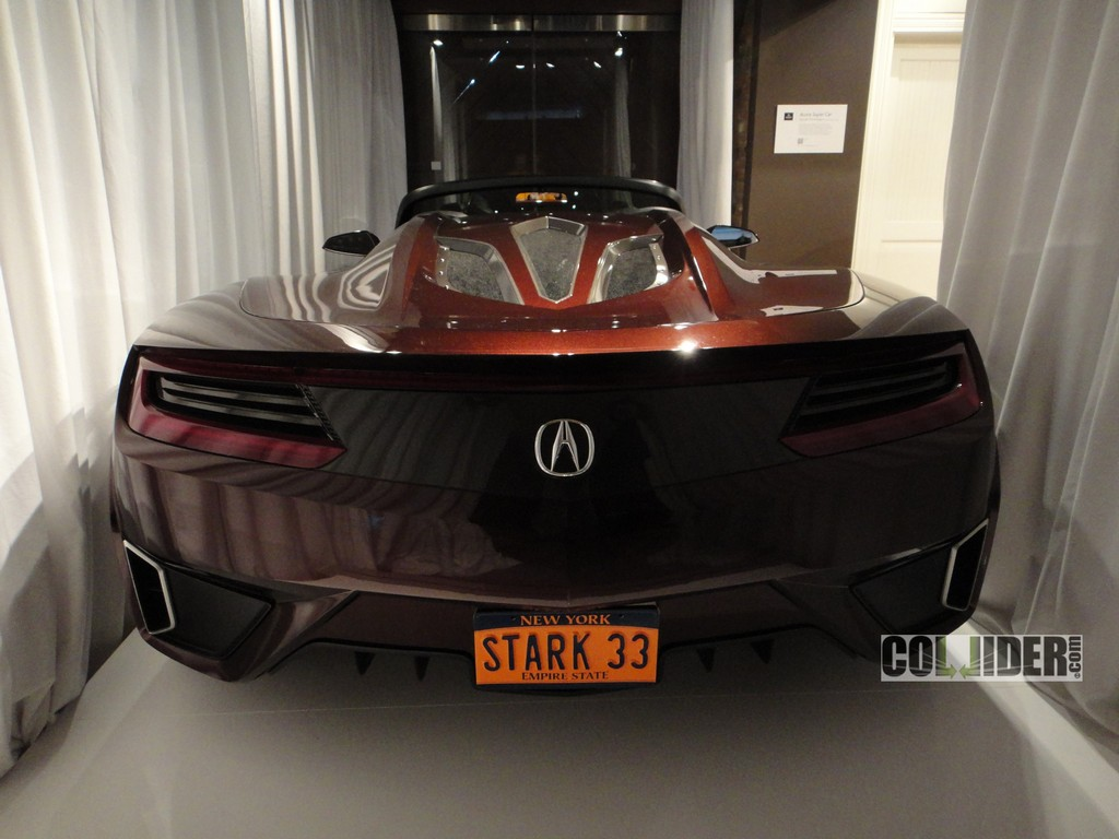 Scooped Tony Stark S 9 Million Acura Supercar From The Avengers Autoevolution