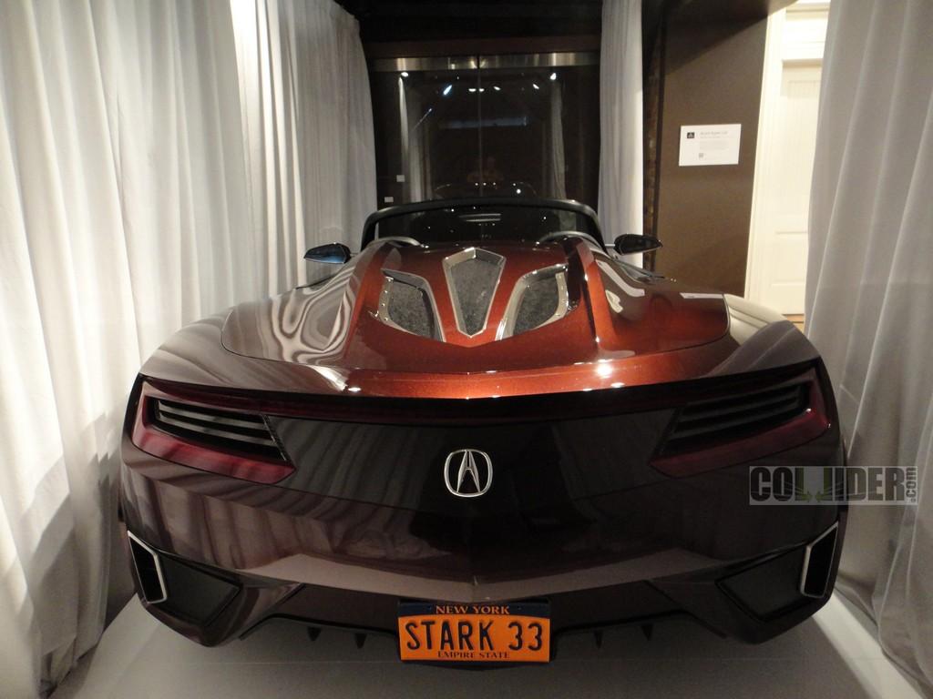Scooped Tony Stark S Million Acura Supercar From The Avengers