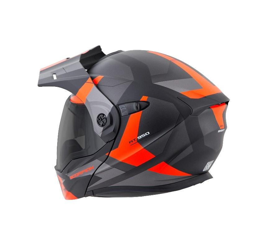 Scorpion Shows Exo At950 Modular Adventure Helmet Under 300 Autoevolution