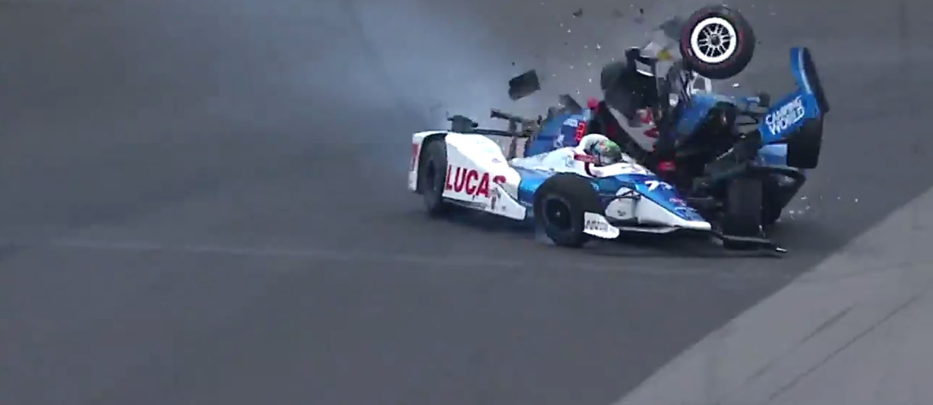 Scott Dixon's Horrible Indianapolis 500 Crash Is a Testament to Racing Safety - autoevolution