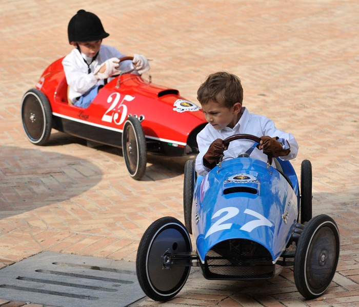 Scuderie Campari S Mira Pedal Car Is Your Kid S Dream Come