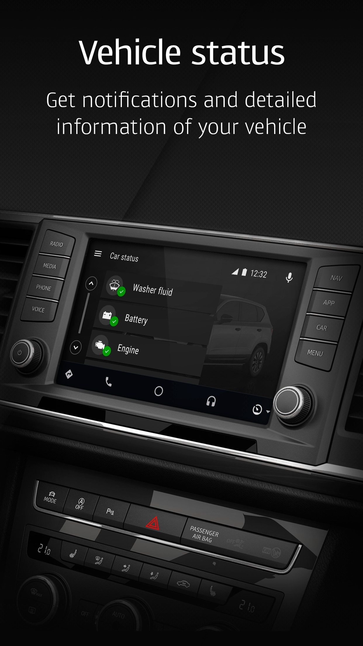seat introduces android auto capable driveapp in google play store autoevolution. Black Bedroom Furniture Sets. Home Design Ideas