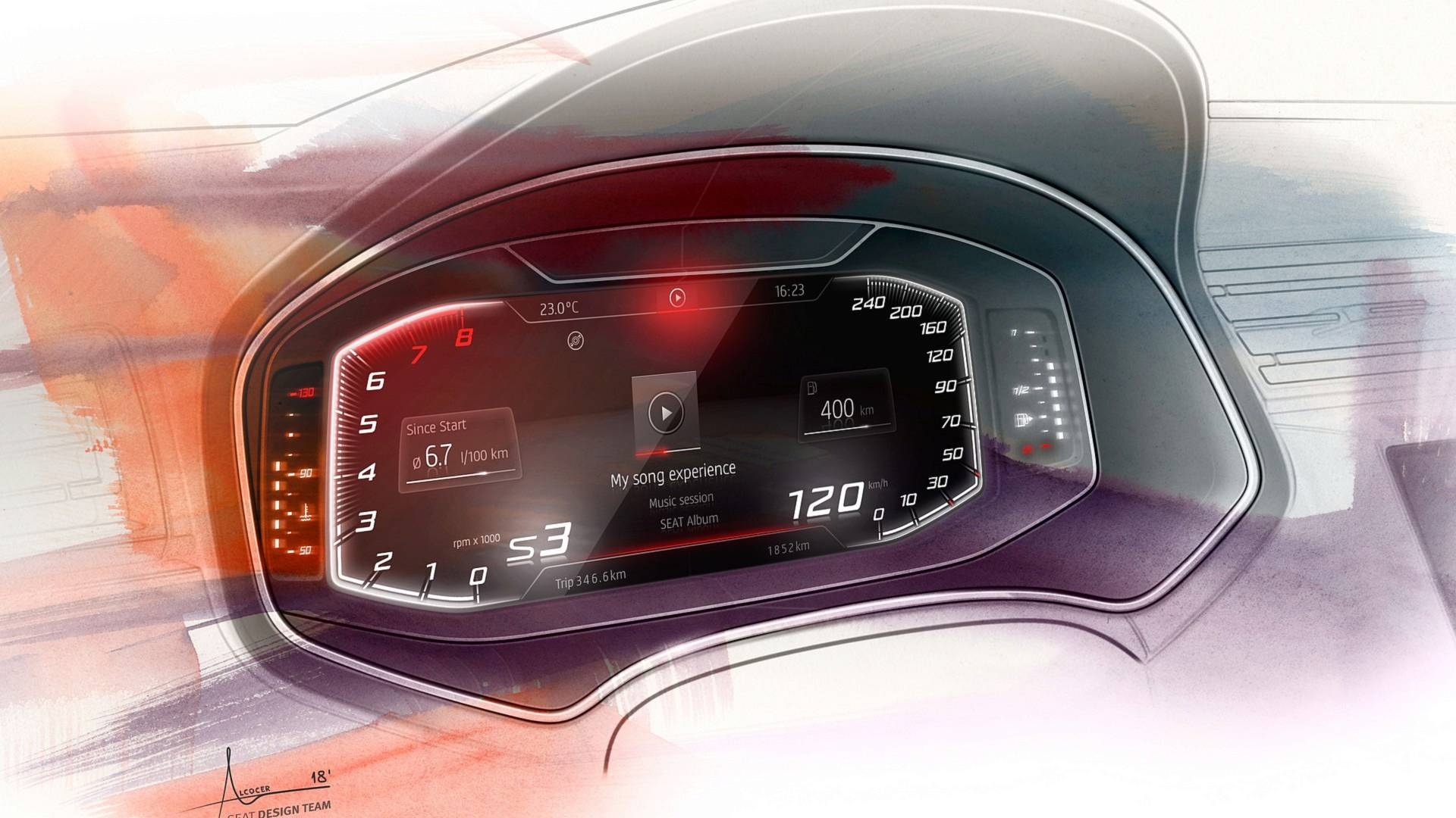 SEAT Digital Cockpit Now Available For Ibiza, Arona