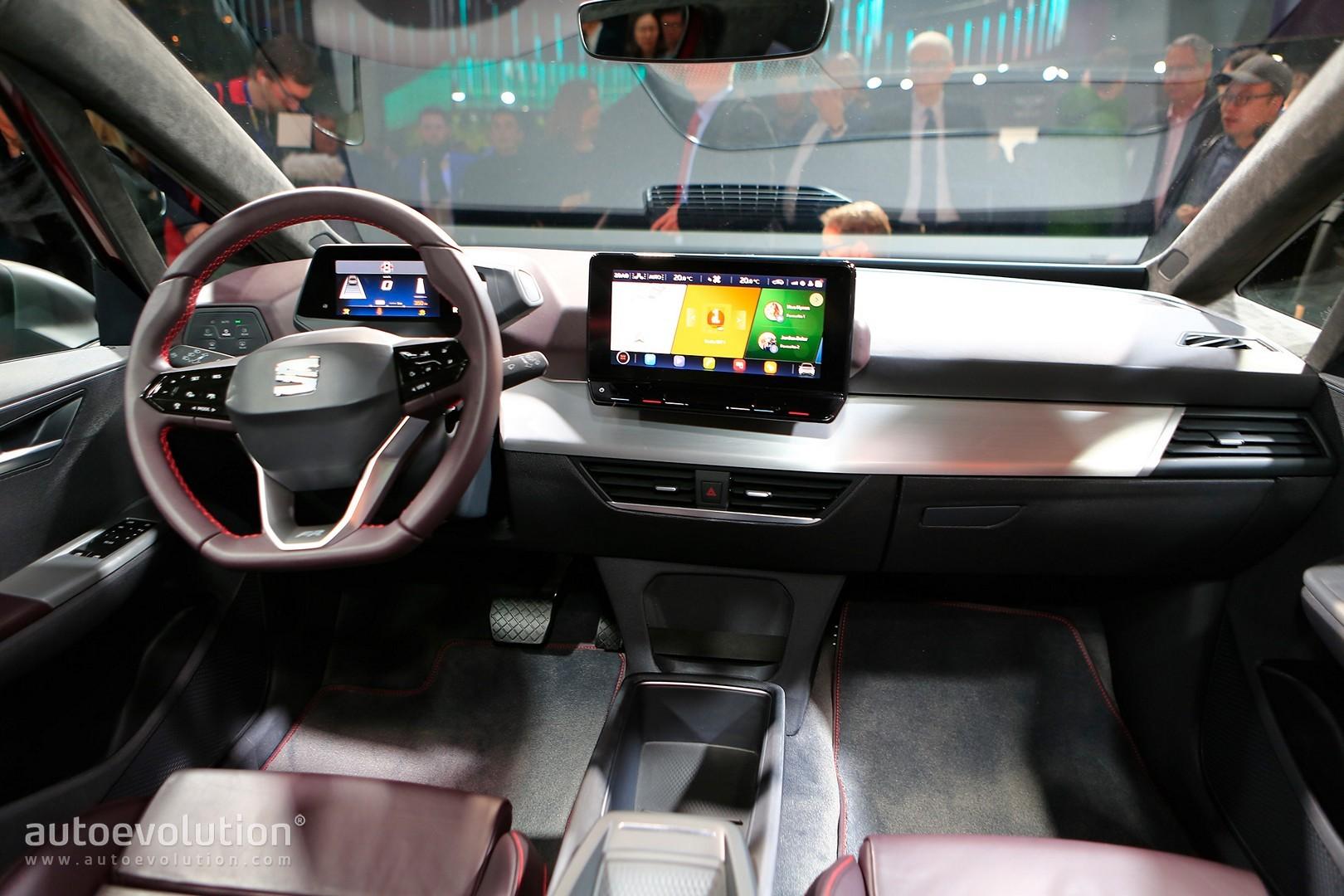 Car In Spanish >> SEAT el-Born Concept Shows Purple FR Interior in Geneva ...