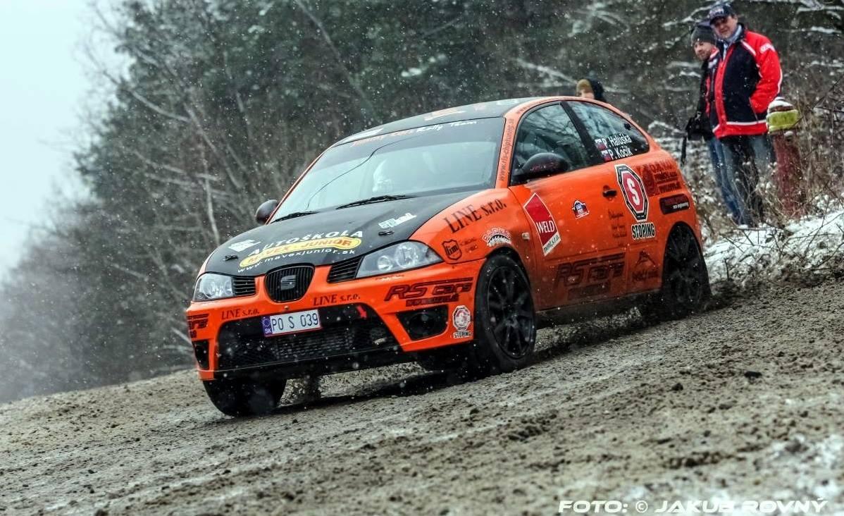 Seat Ibiza Rally Car