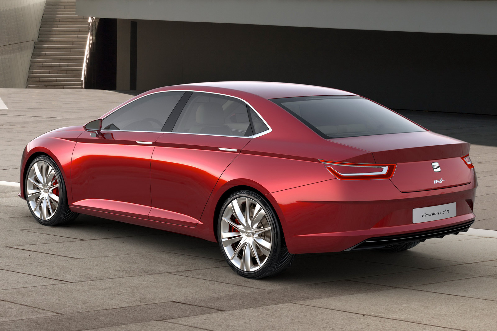 seat ibl concept sedan officially unveiled autoevolution. Black Bedroom Furniture Sets. Home Design Ideas