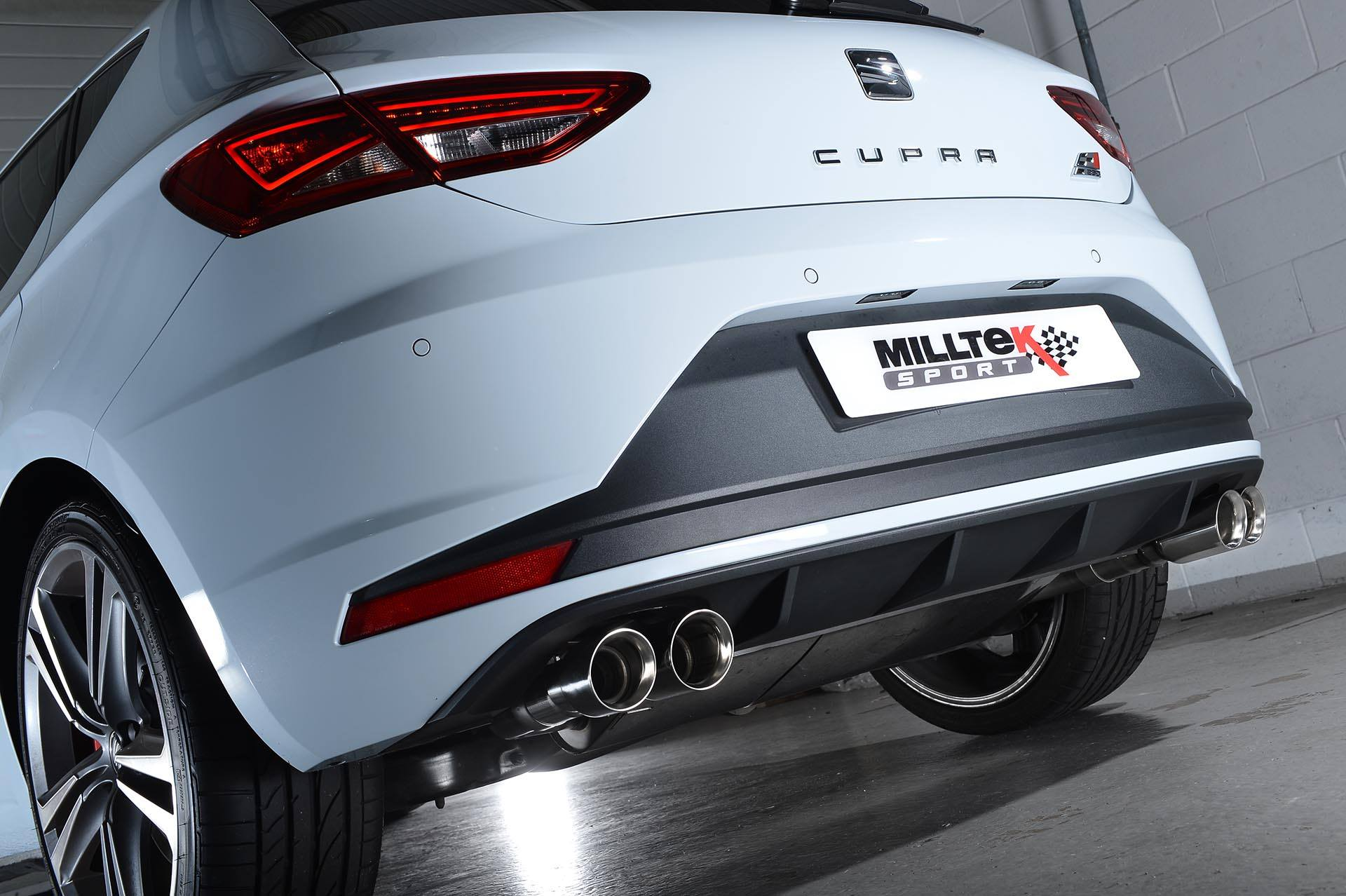 Seat Leon Cupra Ps Gets Milltek Performance Exhaust Photo Gallery on Tsi 2 0 T Engine