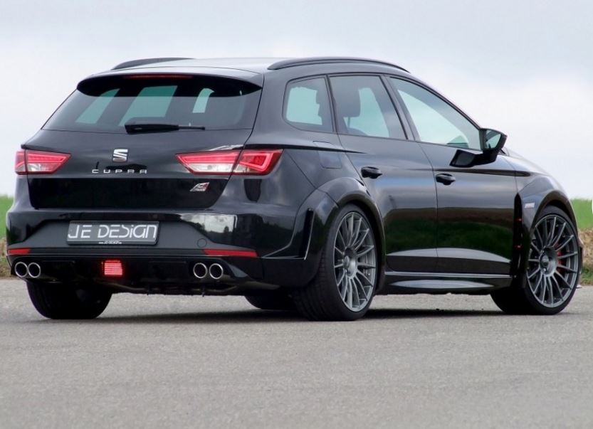 seat leon cupra st gets wide body kit from je design. Black Bedroom Furniture Sets. Home Design Ideas