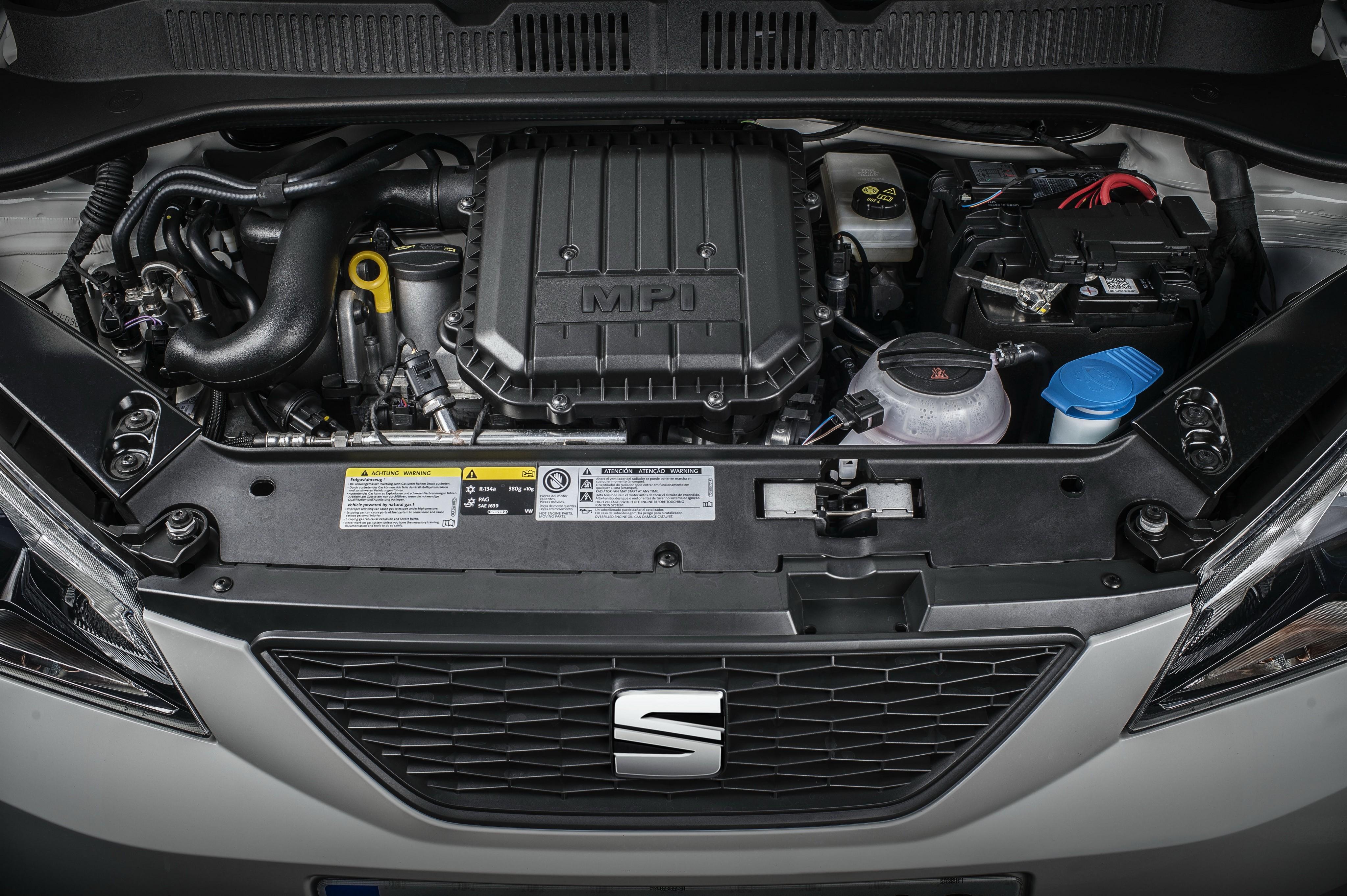 Двигатель MPI под капотом SEAT Mii EcoFuel