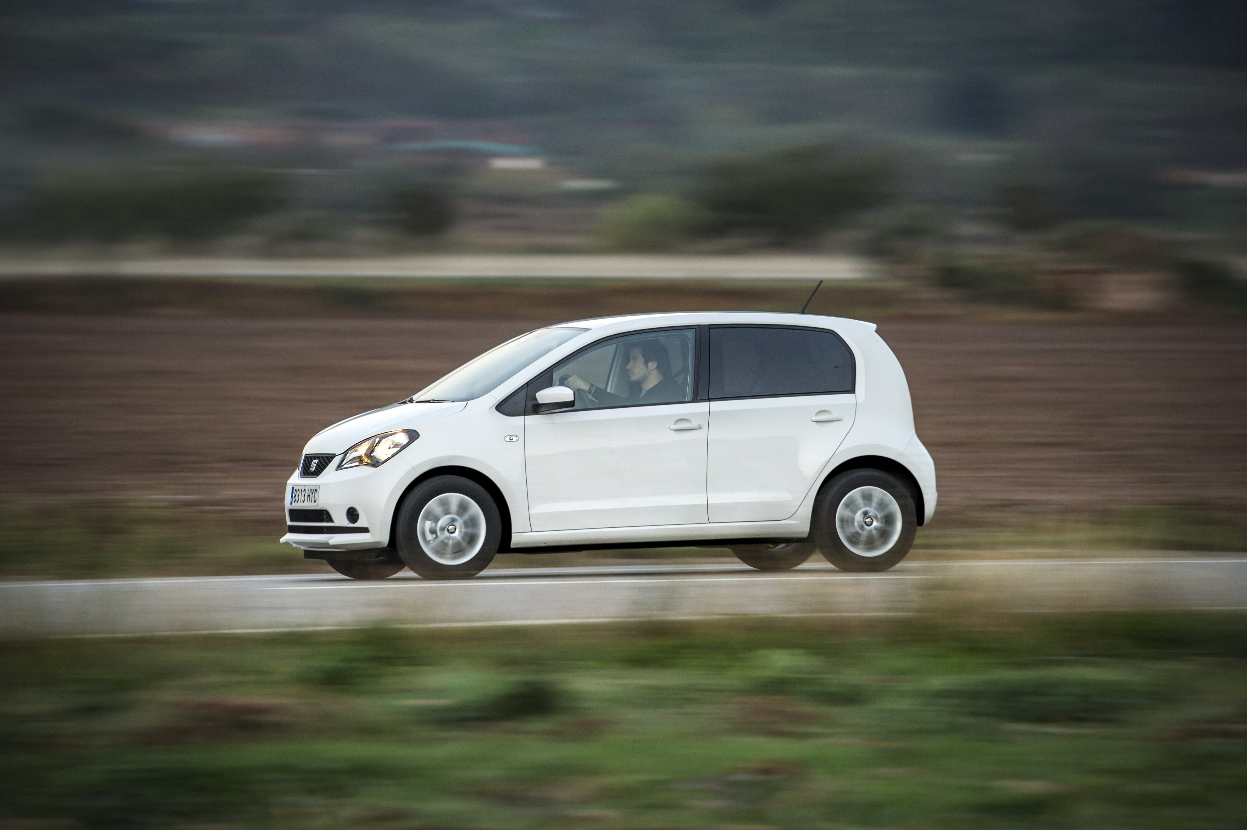 Газовый SEAT Mii EcoFuel