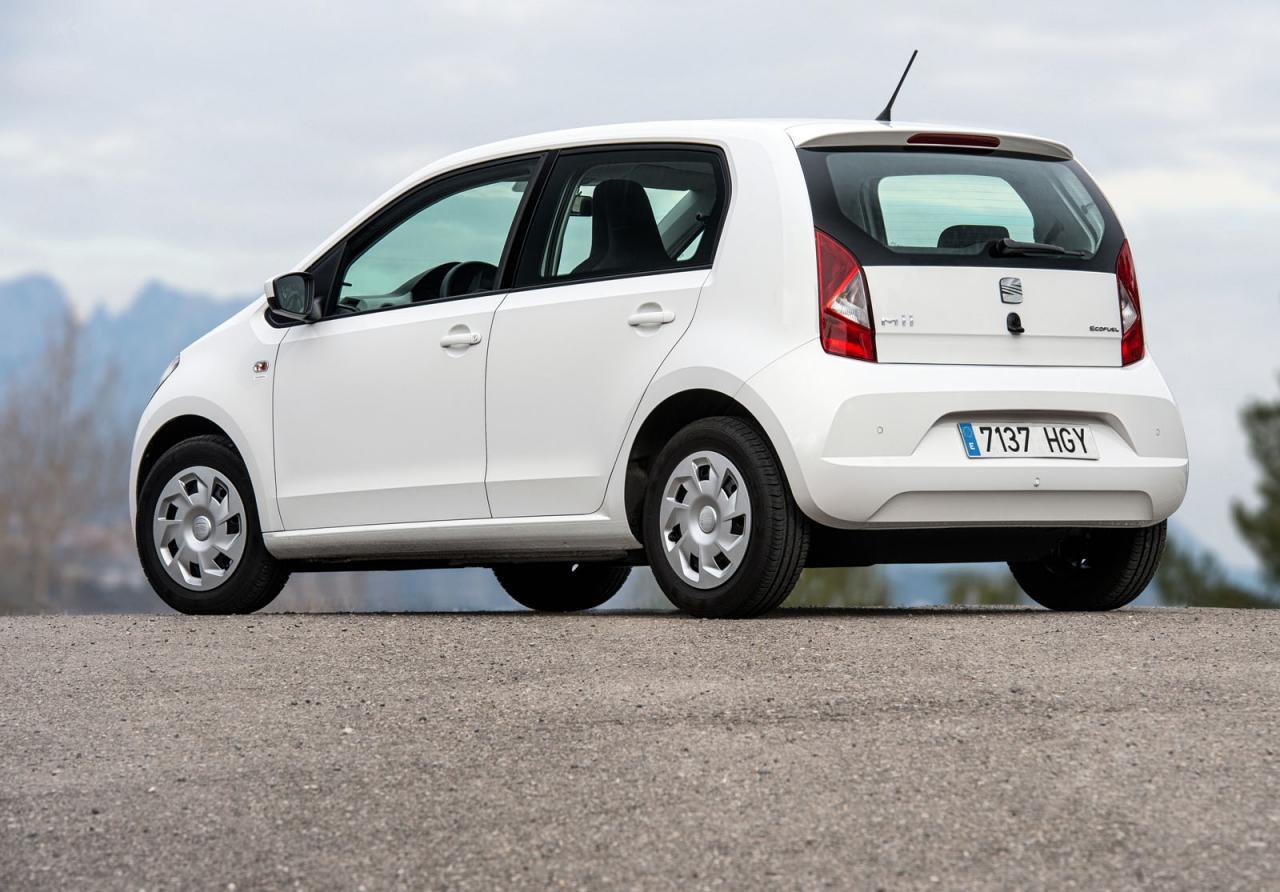 SEAT Mii EcoFuel: самый экономичный автомобиль марки