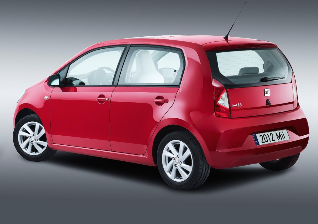 seat mii 5 door revealed autoevolution. Black Bedroom Furniture Sets. Home Design Ideas
