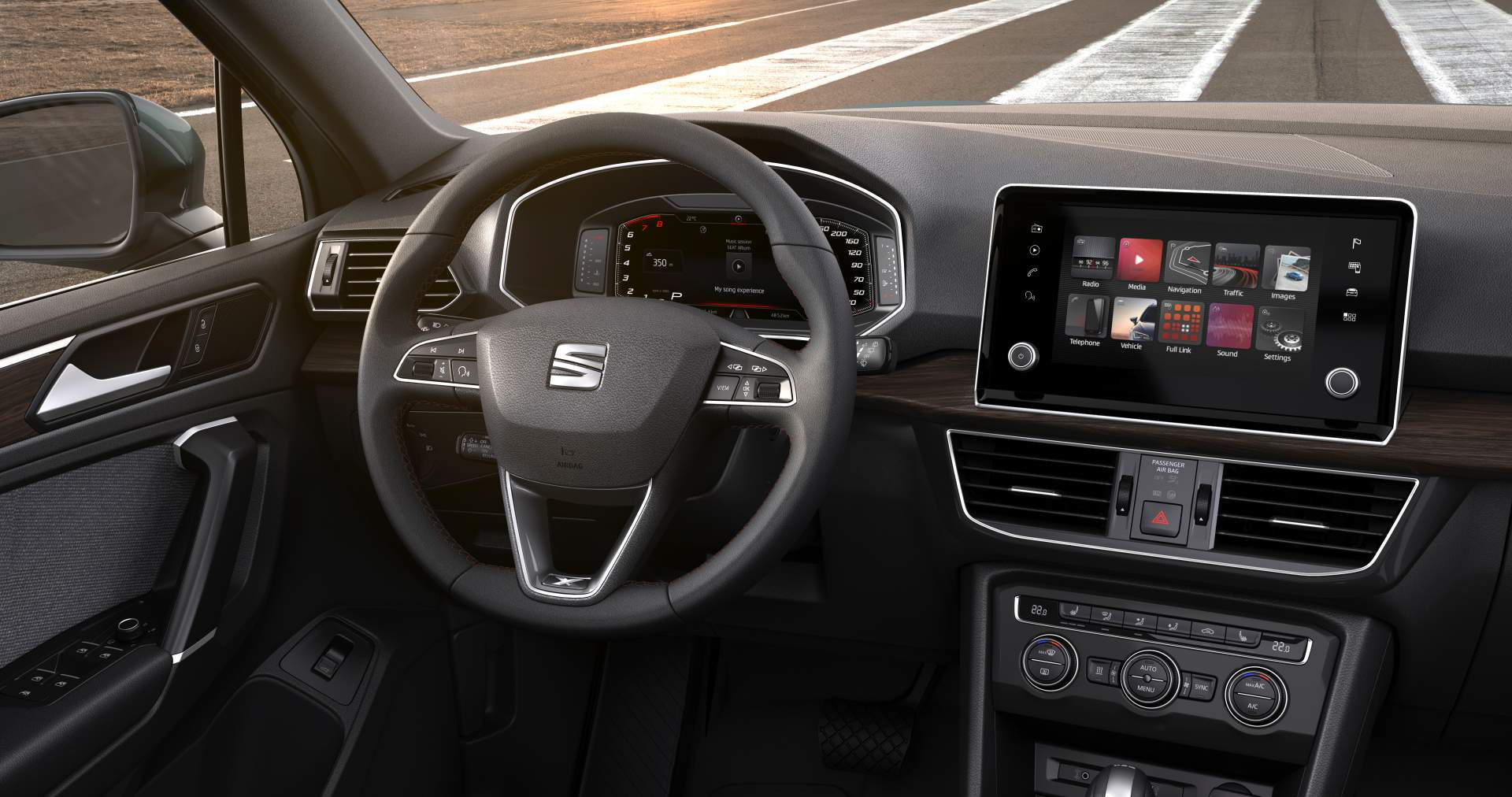 seat tarraco shows colors and 7 seat interior in new photo. Black Bedroom Furniture Sets. Home Design Ideas