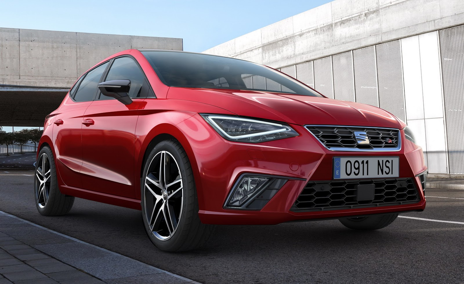 seat won t offer cupra three door wagon versions of the 2017 ibiza autoevolution. Black Bedroom Furniture Sets. Home Design Ideas