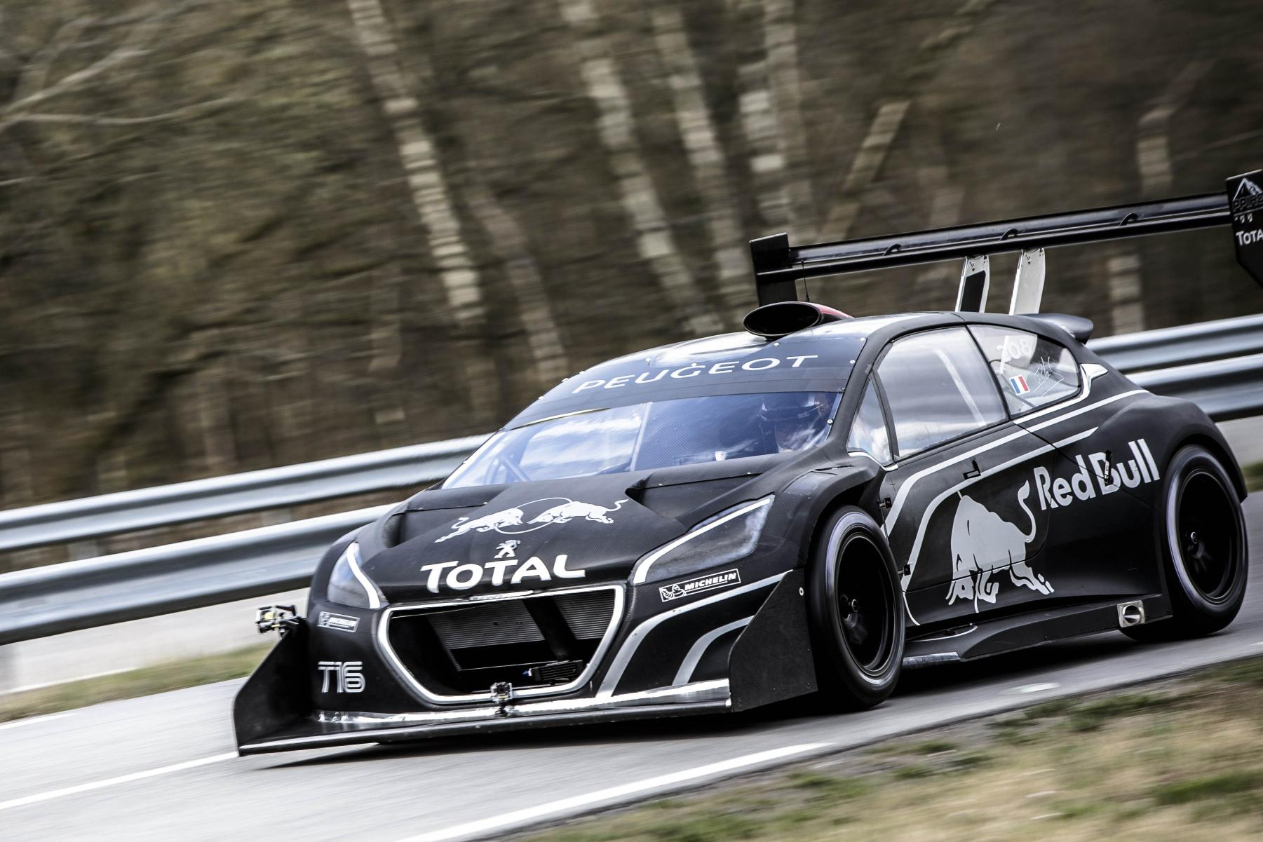 Tj Auto Sales >> Sebastien Loeb Stunned by the Peugeot 208 T16 Pikes Peak ...