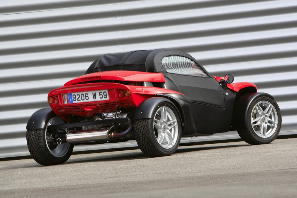 Secma F16 Roadster Now In Germany Autoevolution