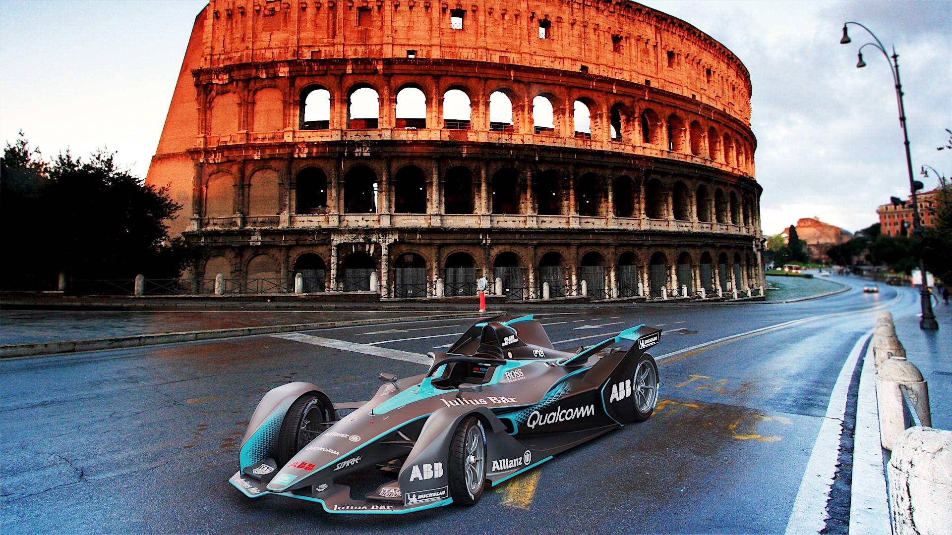 Second Gen Formula E Car Gets The Futuristic Look It