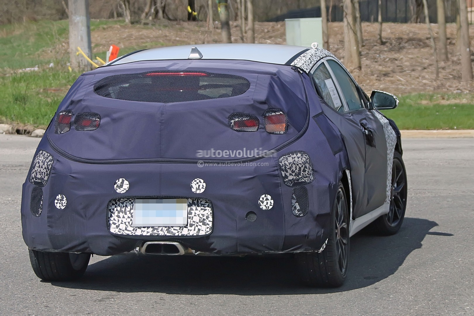 ... 2019 Hyundai Veloster spied & Second-Generation Hyundai Veloster Prototype Hides Cleaner Look Odd ...