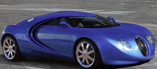 Secret 1999 Bugatti Concept Car Autoevolution