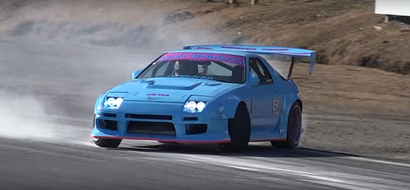Secret Japanese Sanpatsu Street Drifting Demonstrated On Nikko