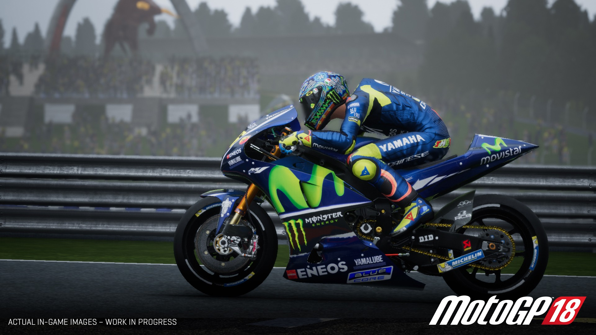 see how the motogp 18 video game is made in behind the. Black Bedroom Furniture Sets. Home Design Ideas