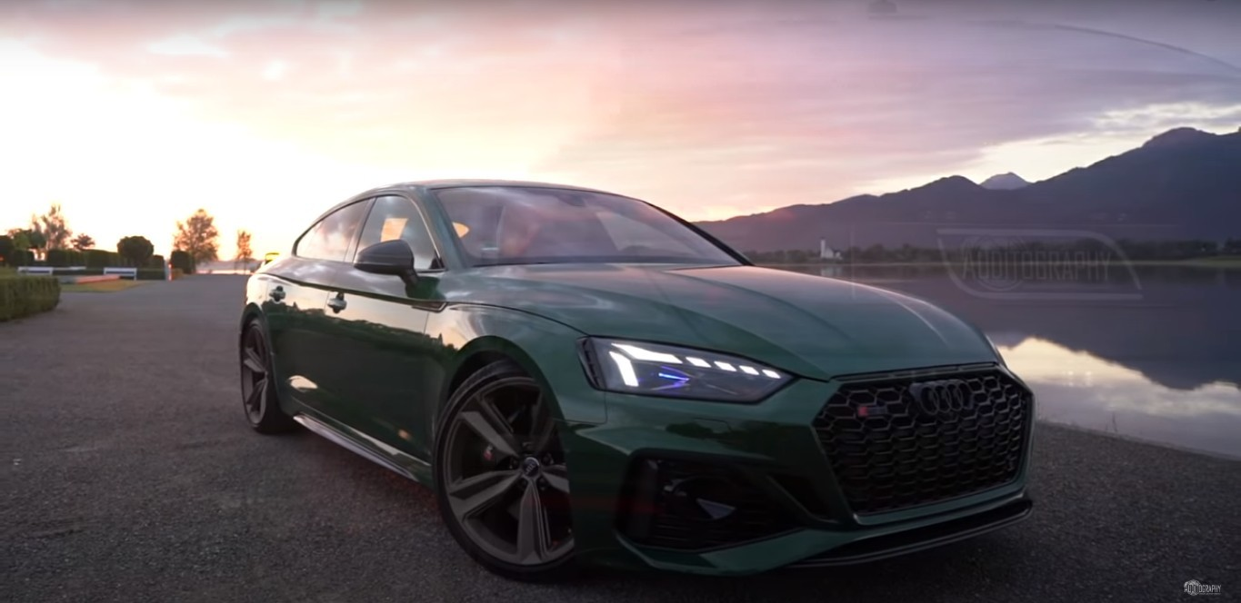 see the 2021 audi rs5 sportback in full glory, details are