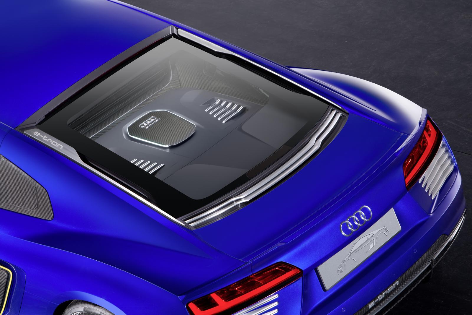 Self-Driving Audi R8 e-tron Concept Unveiled: I, Robot RSQ Finally Here? - autoevolution