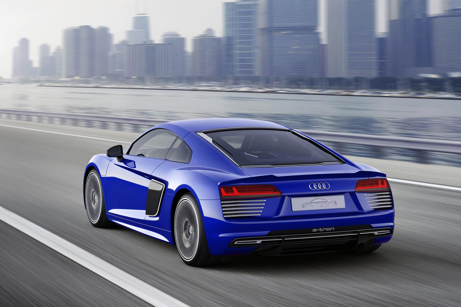 Self-Driving Audi R8 e-tron Concept Unveiled: I, Robot RSQ Finally Here? - autoevolution